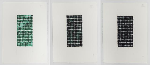 , 'Experiment - Watercolour,' 2009, Gallery Isabelle van den Eynde