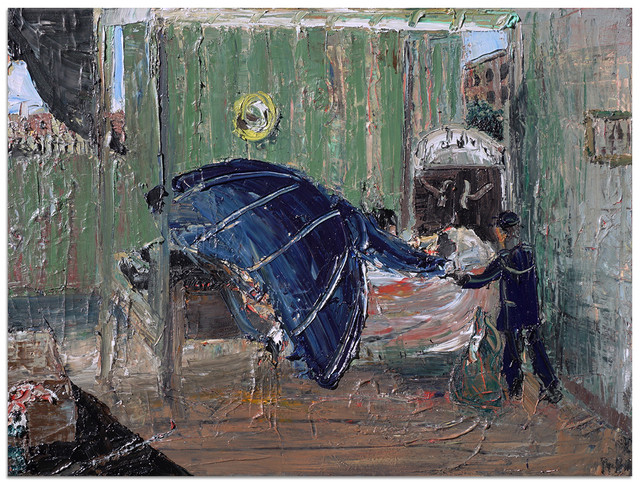 John Bradford, 'Lincoln on His Deathbed', 2018, Anna Zorina Gallery
