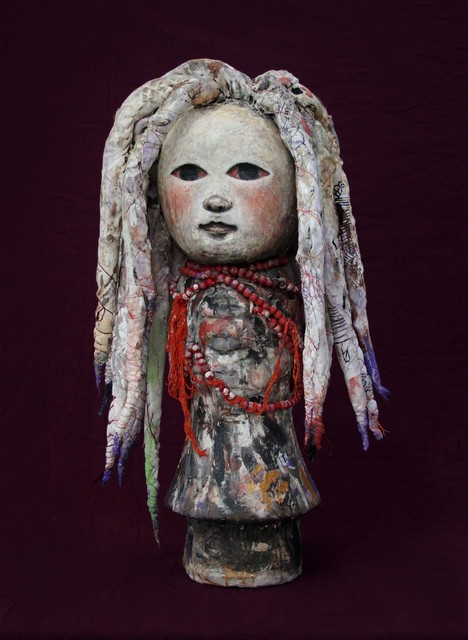 , 'Rasta from the Canvas Dolls series,' 2018, Pan American Art Projects