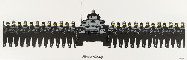 Banksy, 'Have a Nice Day (Anarchist Book Fair) - Signed', 2003, Hang-Up Gallery