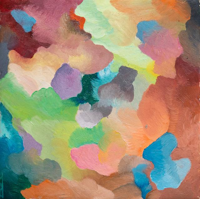 , 'Painted Tile 2,' 2017, Projet Pangée