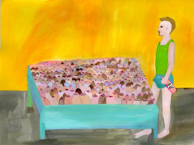 , 'Bosom Bed,' 2013, Wilding Cran Gallery