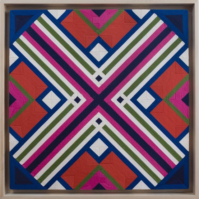 , 'Possibilities of a Structure: Diagonals 1.3.11,' 1975, Jahn und Jahn