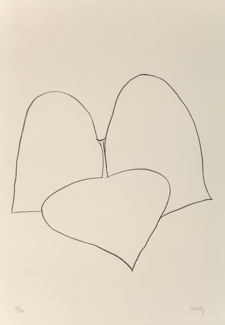 Ellsworth Kelly, 'String Bean Leaves III (Haricot Vert III), from Suite of Plant Lithographs', 1965-1966, Heritage Auctions