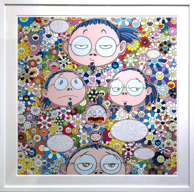 Takashi Murakami, 'Self-Portrait of the Manifold Worries of a Manifoldly Distressed Artist', 2017, DTR Modern Galleries