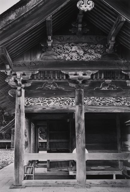 Paul Caponigro, 'Within the Honden, Izumo-Tai, Shinto Shrine, Japan', 1976, Pucker Gallery