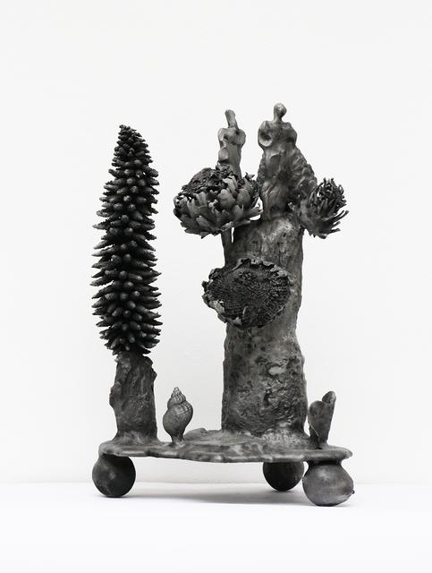 Gunter Damisch, 'Gunera-Artischockentürme', 2013, Galerie Elisabeth & Klaus Thoman