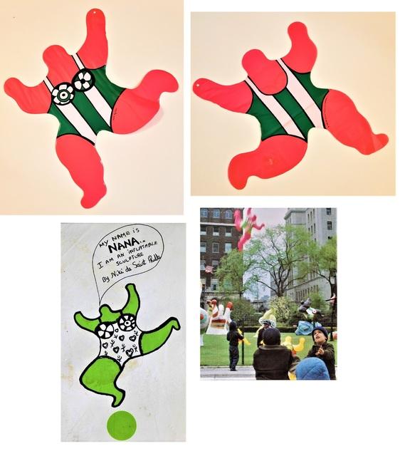 "Niki de Saint Phalle, ''NANA Pink', Inflatable Sculpture, 23"" High, RARE', 1996, VINCE fine arts/ephemera"