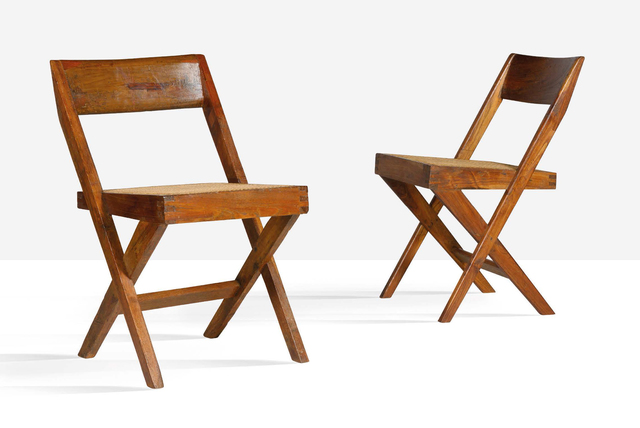 Pierre Jeanneret, 'Library chair', Circa 1959, Aguttes