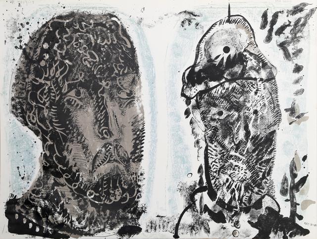 Jose Luis Cuevas, 'Van Gogh's Criminal Obsession', 1968, RoGallery