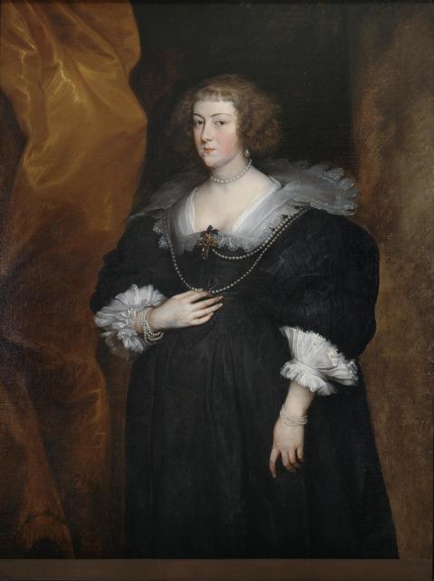 Anthony van Dyck, 'Portrait of a Lady', 1630-1640, Pinacoteca di Brera