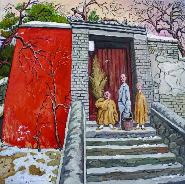 , 'Three Monks,' 2013, Platform China