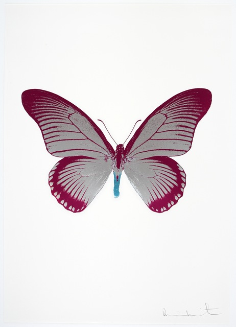 , 'The Souls IV - Silver Gloss/Fuchsia Pink/Topaz,' 2010, Paul Stolper Gallery