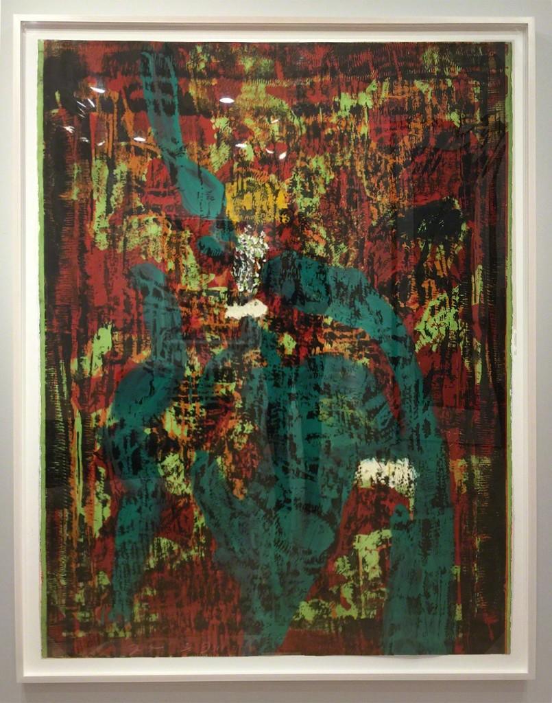 The Dear Ape – 63″ x 49 1/4″, 2015