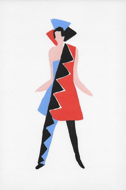 Sonia Delaunay, 'Costume pour Carnaval de Rio', Hans den Hollander Prints