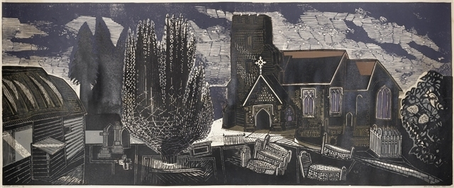 , 'Lindsell Church,' 1964, Osborne Samuel