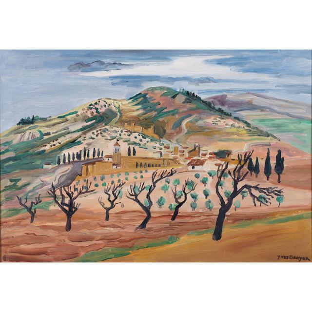 Yves Brayer, 'Assisi landscape, Italy', 1952, PIASA