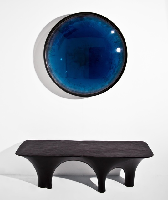 , 'Giant Aegean Convex Mirror,' 2016-2017, Guilded