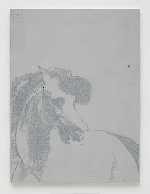 , 'Blue Horse,' 2016, White Cube