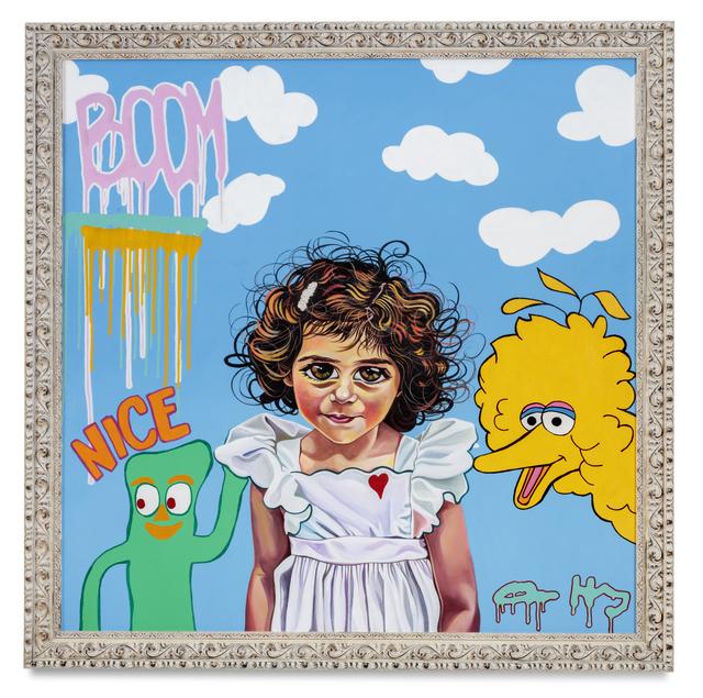 , 'Big Eyes (Collaboration with Leah Tenari),' 2015, De Re Gallery