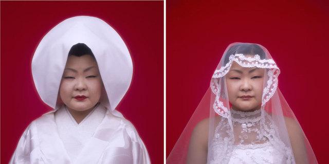 Tomoko Sawada, 'Bride (22 + 21)', 2007, ROSEGALLERY