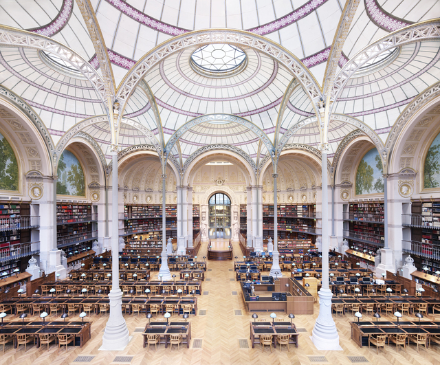 , 'La Salle Labrouste - La Bibliothèque de l'INHA Paris II 2017,' 2017, Dirimart