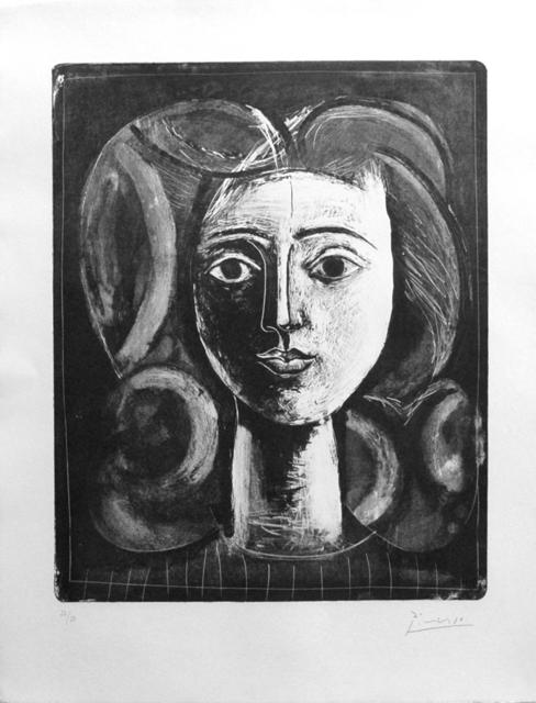 Pablo Picasso, 'Tête de jeune Fille', 1947, DIE GALERIE