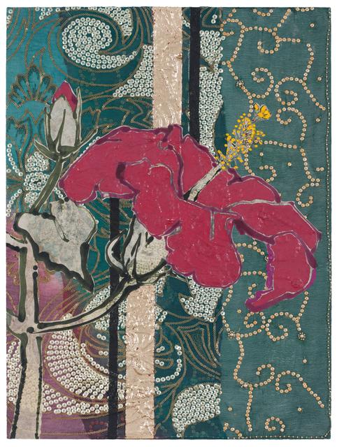 , 'Pink Hibiscus ,' 2017, DC Moore Gallery