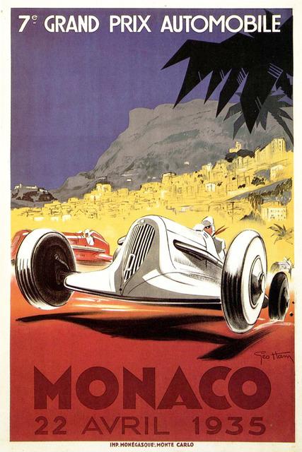 , 'Monaco Grand Prix 1935,' 1935, Omnibus Gallery