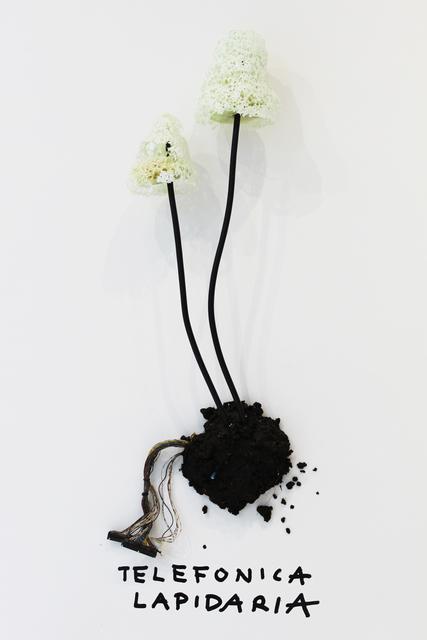 , 'Telefonica Lapidaria,' 2017, Sapar Contemporary