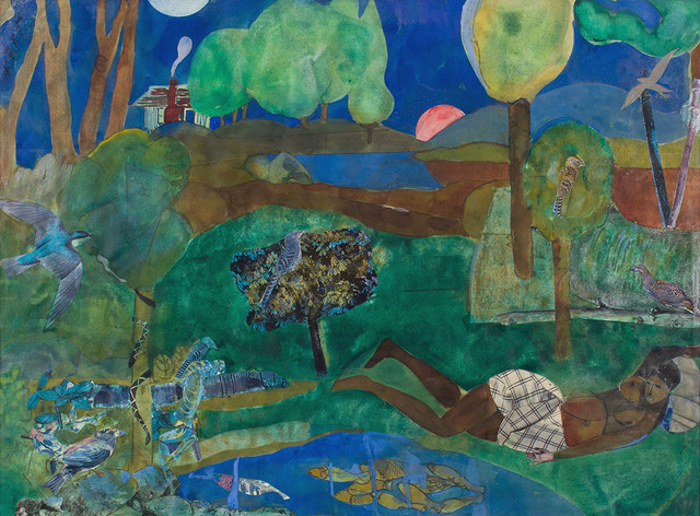 , 'GREEN TIMES REMEMBERED-RECOLLECTION POOL,' 1970, Jerald Melberg Gallery
