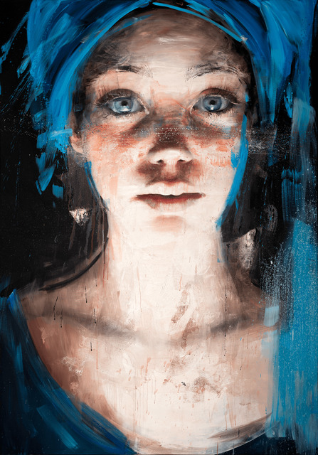 Roberta Coni, 'Diletta with Blue Turban', 2019, Galerie LeRoyer