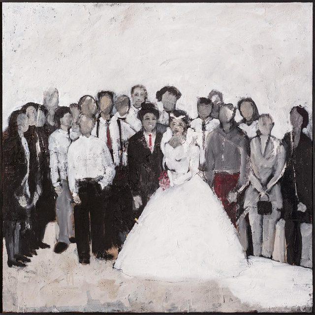 , 'Die erste Hochzeit (the first marriage),' 2017, Sarasin Art