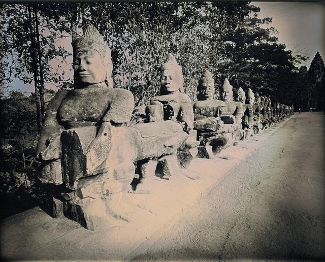 , 'Entrance to Angkor Thom,' 2017, Lisa Sette Gallery