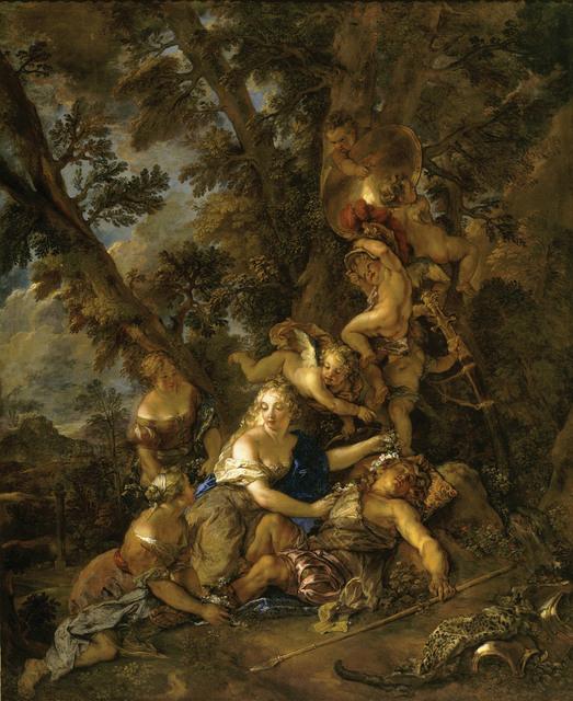 , 'Renaud et Armide (Rinaldo and Armida),' 17th century, Château de Versailles