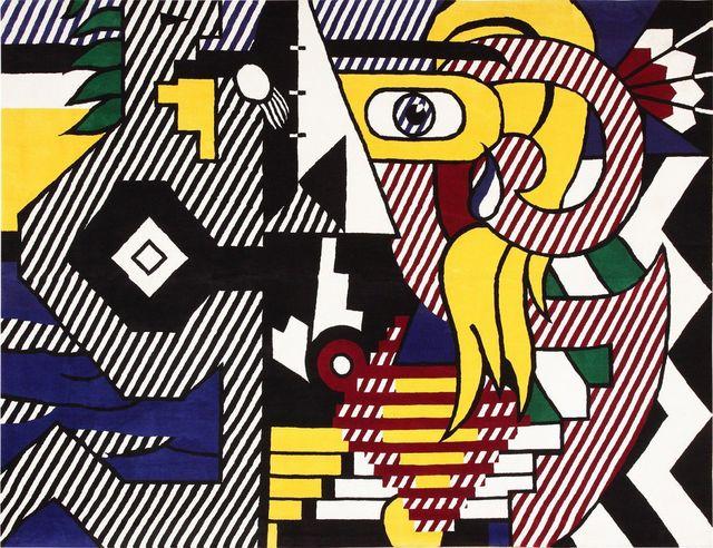 Roy Lichtenstein, 'Pop Art Tapestry Rug by Roy Lichtenstein', Mid 20th Century, Nazmiyal Collection
