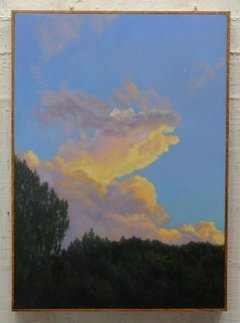, 'Evening Sky with Crescent Moon,' 2018, Andra Norris Gallery