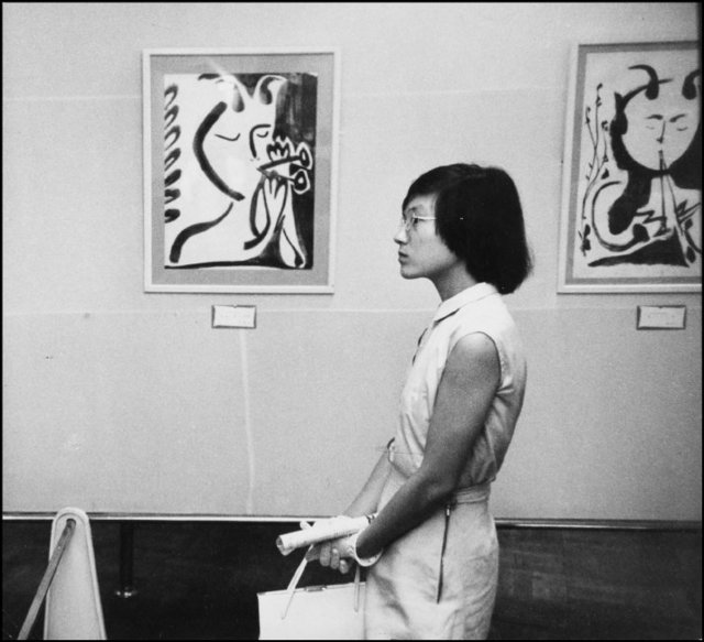 , 'JAPAN. Tokyo. Picasso exhibition,' 1951, IBASHO