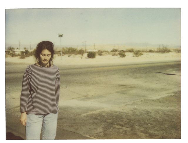 Stefanie Schneider, 'Stefanie on 29 Palms Highway - Spring Sale', 1997, Instantdreams
