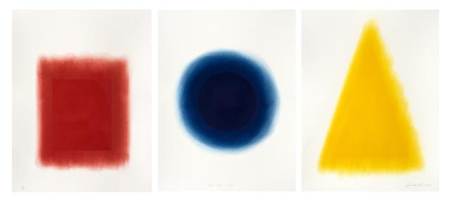 David Nash, 'Red, Blue, Yellow', 2014, Galerie Simon Blais