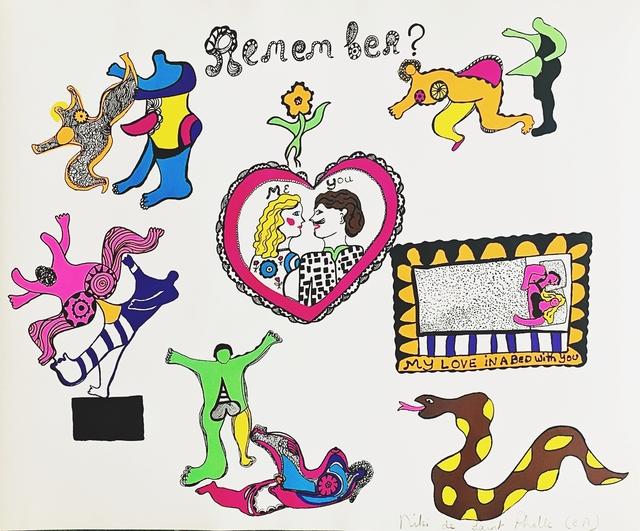Niki de Saint Phalle, 'Remember?', 1969, Alpha 137 Gallery