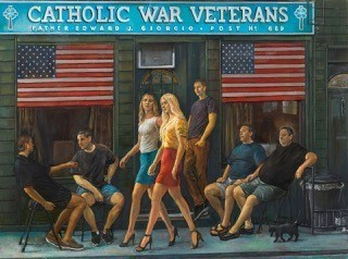 , 'Catholic War Veterans,' 2017, Denise Bibro Fine Art