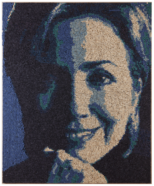 , 'Hillary Clinton,' 2015, Leeseoul Gallery