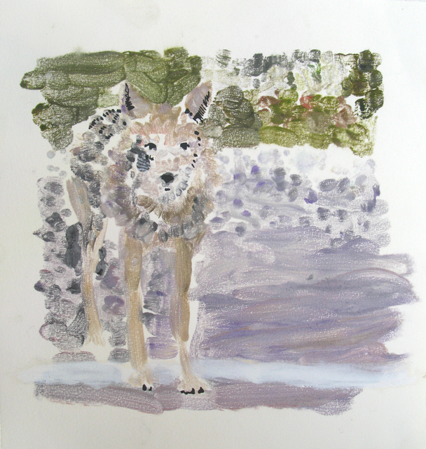 , 'Untitled Wolf 2,' 2012, Newzones
