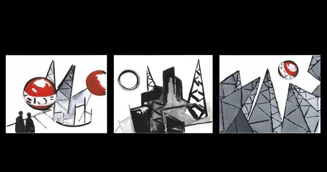 , 'Training for the Future studied,' 2018, Laveronica Arte Contemporanea