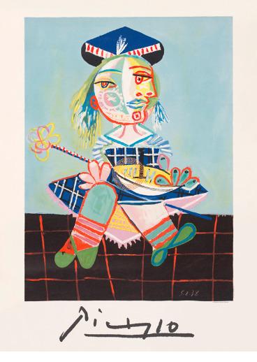 Pablo Picasso, 'La Fille de L'artiste a Deux Ans Et Demi Avec un Bateau', 1938, Smith & Partner