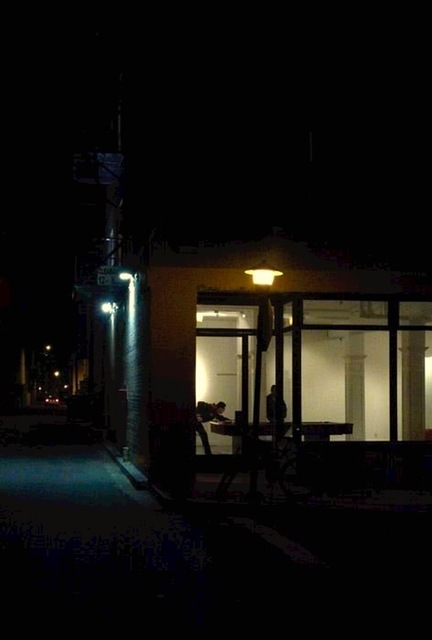 , 'Dudley and Speedway, after Edward Hopper,' 2014, bG Gallery