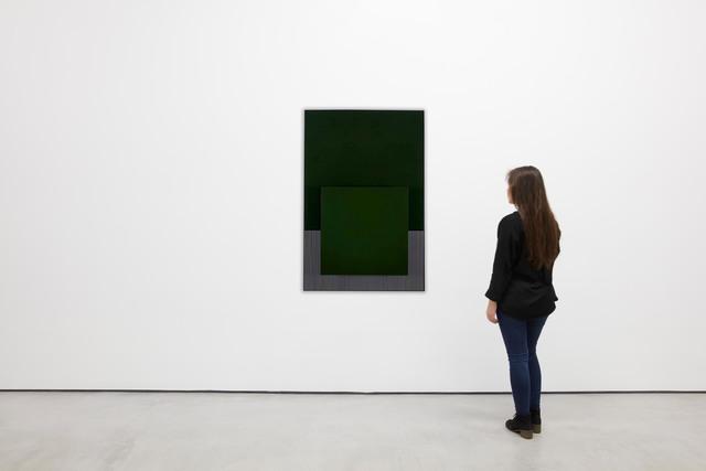 , 'El cuadrado verde,' ca. 1988, Galería Cayón