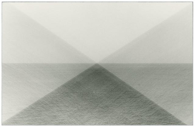 , ' Untitled (4.5 billions years a lifetime, horizon test 3),' 2019, Casemore Kirkeby