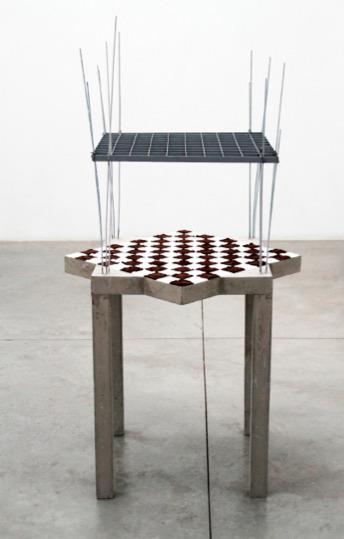 , 'constructive-progressive furniture for sugar and coffee,' 2015, Instituto de Visión